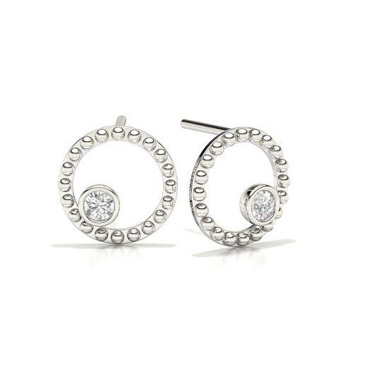 Stud Designer Diamond Earrings