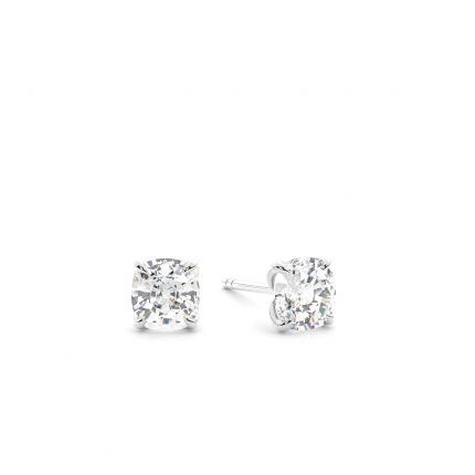 Prong Setting Diamond Stud Earrings
