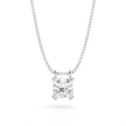 Prong Setting Diamond Solitaire Pendant