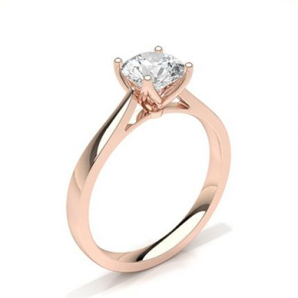 Prong Setting Solitaire Diamond Engagement Ring