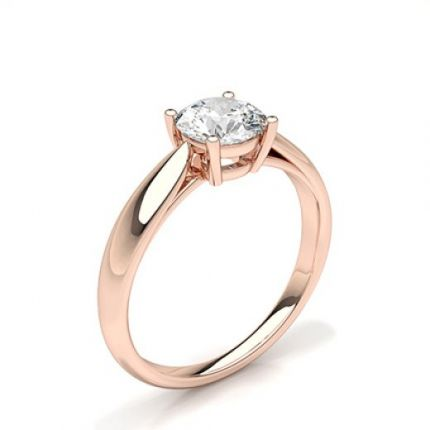 Prong Setting Solitaire Engagement Ring